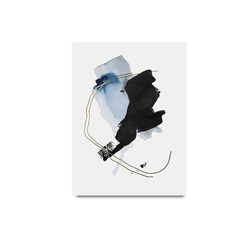 Albie Abstract Art Canvas Painting Prints-Heart N' Soul Home-10x15cm no frame-B-Heart N' Soul Home
