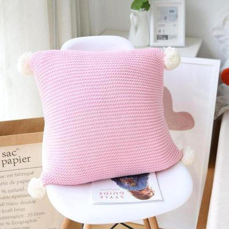 Alexis Knitted Cushion Cover-Heart N' Soul Home-45x45CM NO FILLING-B-Heart N' Soul Home
