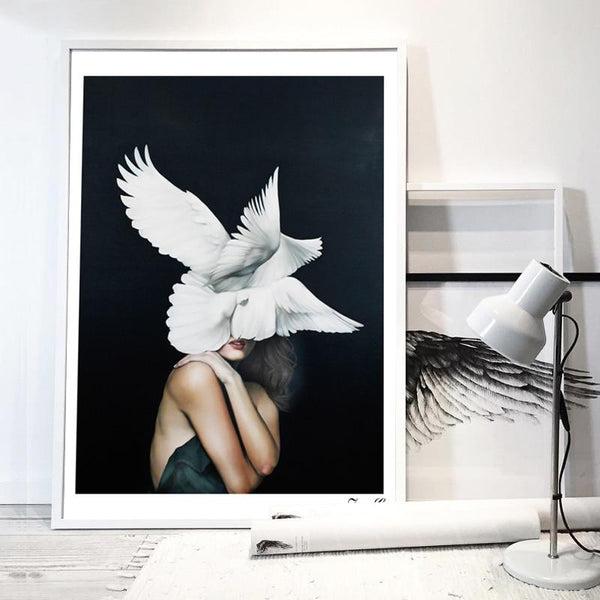Aria Canvas Print-Heart N' Soul Home-15x20cm No frame-Multi-Heart N' Soul Home