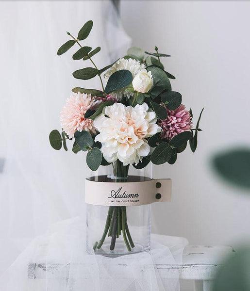 Aria Peony Bouquet Set-Heart N' Soul Home-Heart N' Soul Home