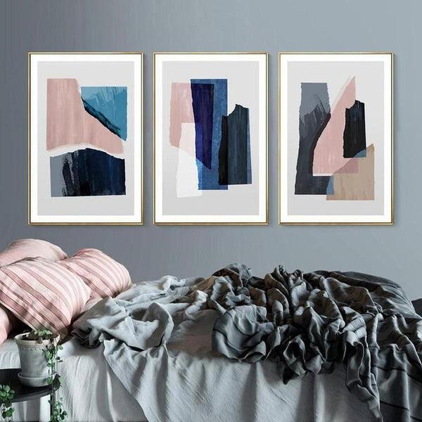 Blake Modern Abstract Art Canvas Painting Prints-Heart N' Soul Home-Heart N' Soul Home