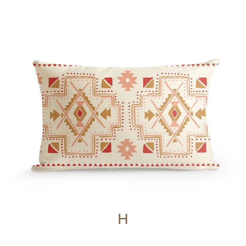Bohemia Style Cushion Cover-Heart N' Soul Home-30×50cm No Insert-H-Heart N' Soul Home