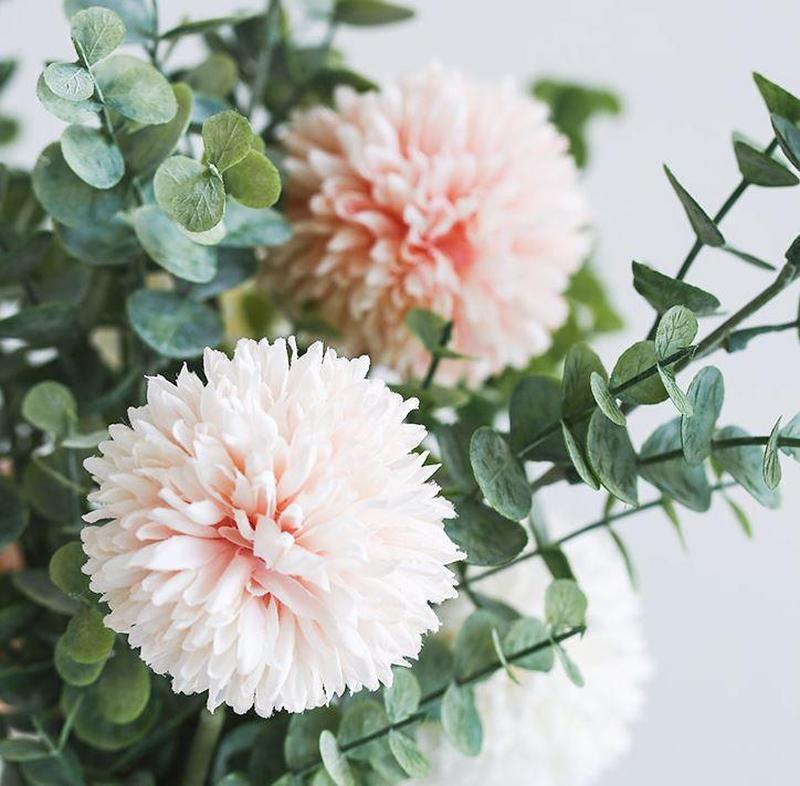 Chrysanthemum Flower Bouquet Set-Heart N' Soul Home-Heart N' Soul Home