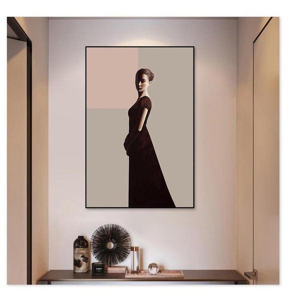 Classic Lady Series Design B Canvas Print-Heart N' Soul Home-Heart N' Soul Home