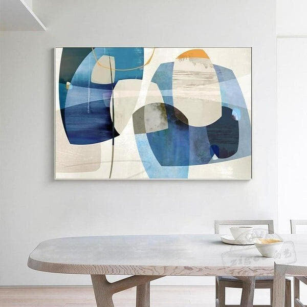 Colorful Abstract Design Canvas Painting Prints-Heart N' Soul Home-10x15 cm no frame-Multi-Heart N' Soul Home