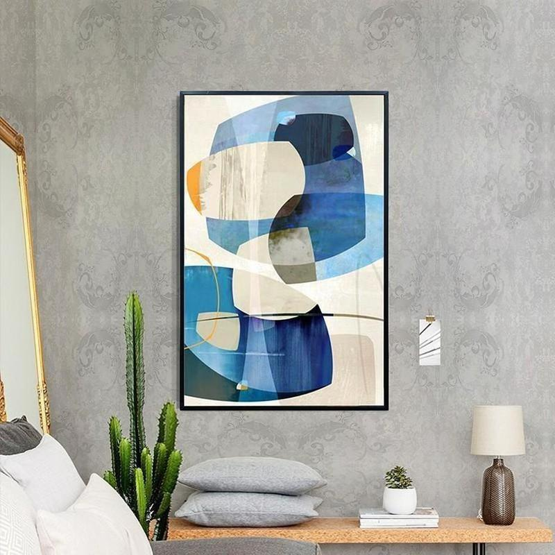 Colorful Abstract Design Canvas Painting Prints-Heart N' Soul Home-Heart N' Soul Home