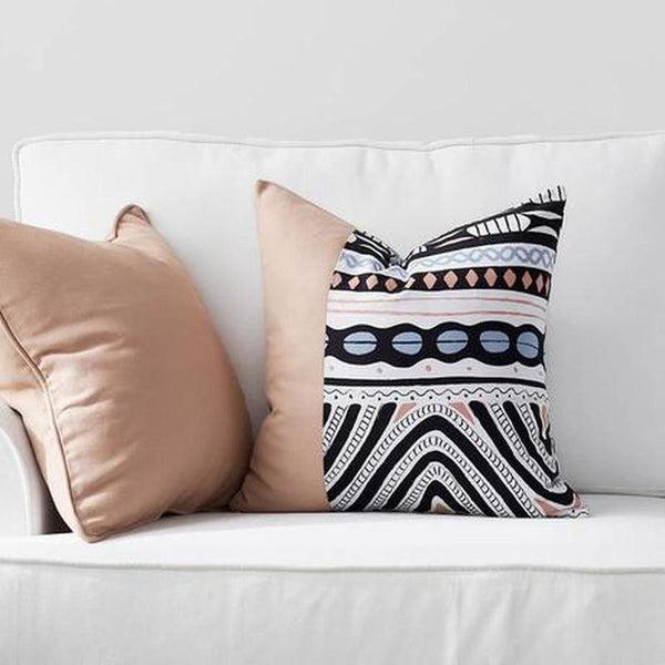 Daleyza Cotton Canvas Cushion Cover-Heart N' Soul Home-Heart N' Soul Home