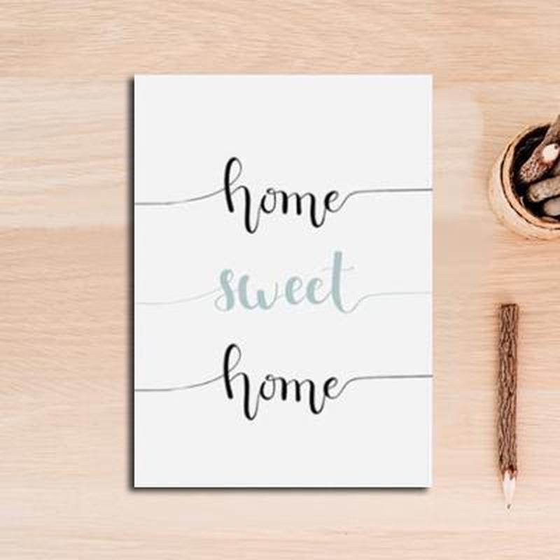 Dandelion Flower/ Typography Canvas Painting Prints-Heart N' Soul Home-10x15 cm no frame-B-Heart N' Soul Home