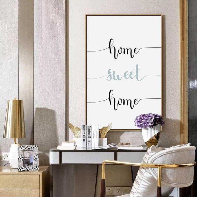 Dandelion Flower/ Typography Canvas Painting Prints-Heart N' Soul Home-Heart N' Soul Home