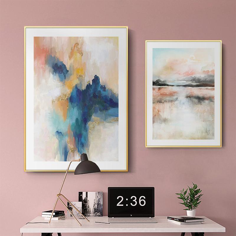 Dreaming Abstract Art Canvas Print-Heart N' Soul Home-Heart N' Soul Home