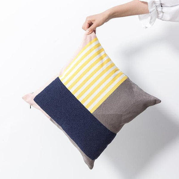 Emely Embroidered Cushion Cover-Heart N' Soul Home-45 x 45 cm No Insert-Heart N' Soul Home