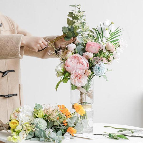 Emma's Garden Large Flower Bouquets-Heart N' Soul Home-Heart N' Soul Home