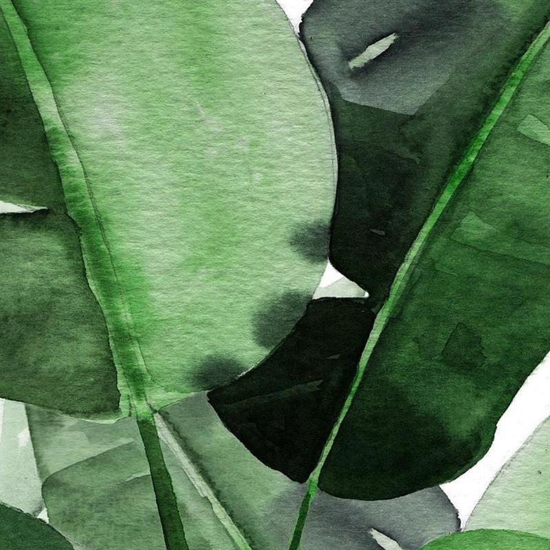 Fresh Palm Leaf Canvas Print-Heart N' Soul Home-Heart N' Soul Home