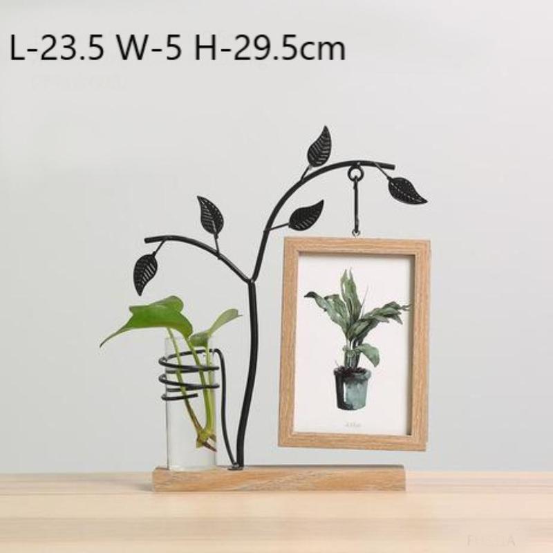 Idyllic Picture Frame Vase-Heart N' Soul Home-Heart N' Soul Home