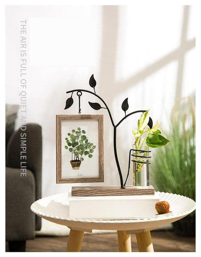 Idyllic Picture Frame Vase-Heart N' Soul Home-Money Tree-Heart N' Soul Home