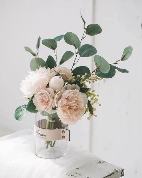 Isla Silk Flower Bouquet Set-Heart N' Soul Home-Heart N' Soul Home