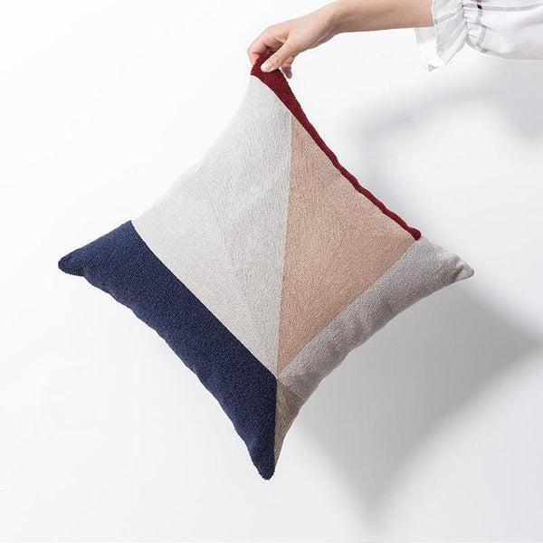 Kara Embroidered Cushion Cover-Heart N' Soul Home-45 x 45 cm Insert Only-Heart N' Soul Home
