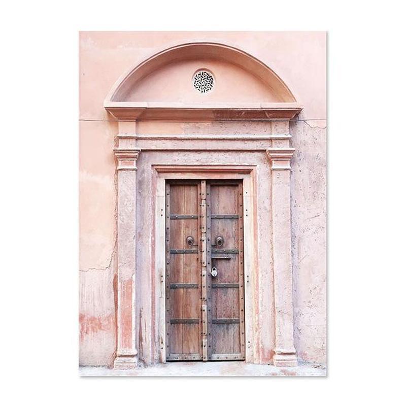 La Beaute N'a Pas D'age - Beauty Has No Age Pink Series Canvas Prints-Heart N' Soul Home-60X90cm no frame-Ancient Door-Heart N' Soul Home