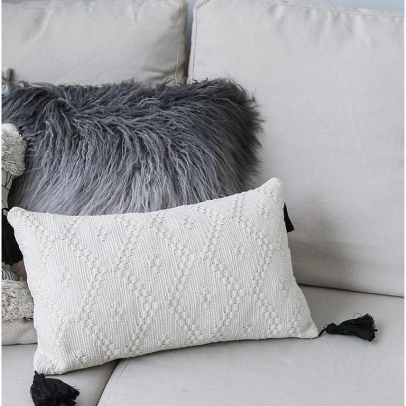 Maci Embroidery Cushion Cover-Heart N' Soul Home-Heart N' Soul Home