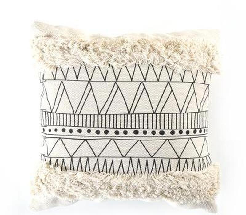 Maci Embroidery Cushion Cover-Heart N' Soul Home-A 45x45cm-Heart N' Soul Home