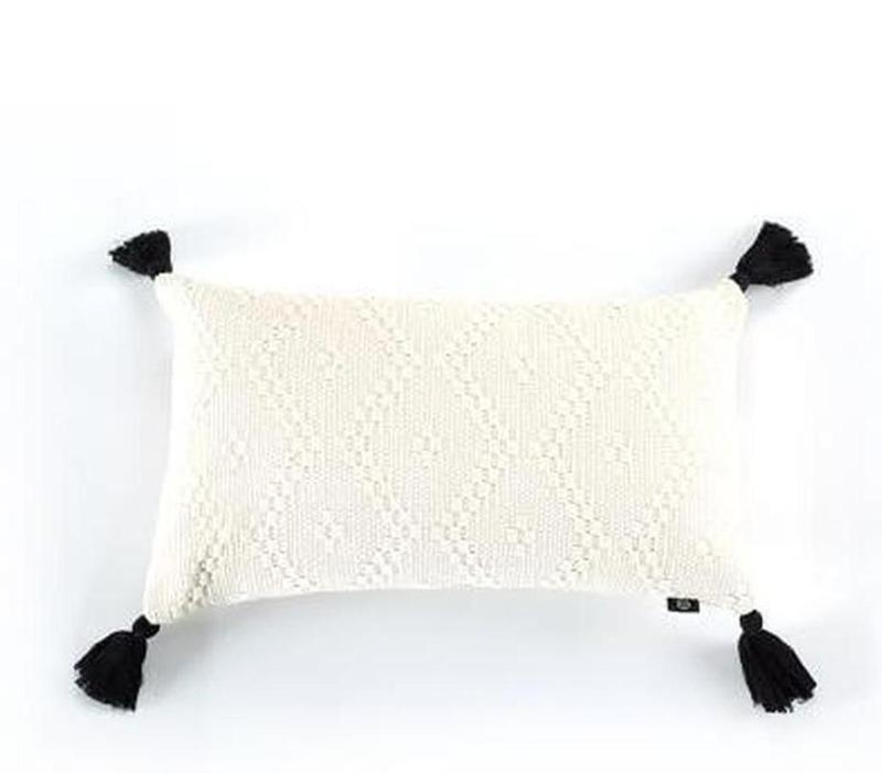 Maci Embroidery Cushion Cover-Heart N' Soul Home-C 30x50cm-Heart N' Soul Home