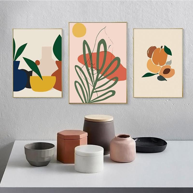 Mischa Abstract Art Canvas Prints-Heart N' Soul Home-Heart N' Soul Home