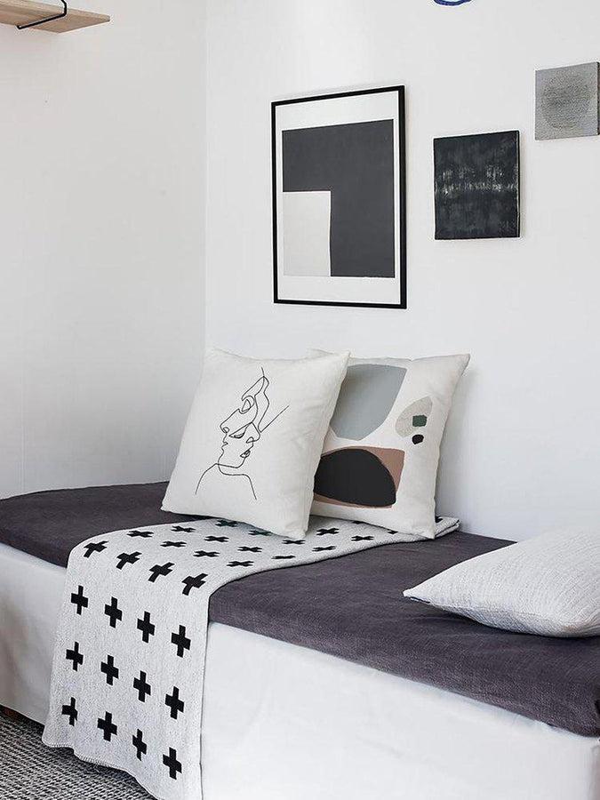 Morandi Nordic Classic Abstract Art Cushion Cover-Heart N' Soul Home-Heart N' Soul Home