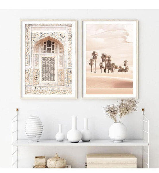 Moroccan Arch and Desert Canvas Prints-Heart N' Soul Home-Heart N' Soul Home