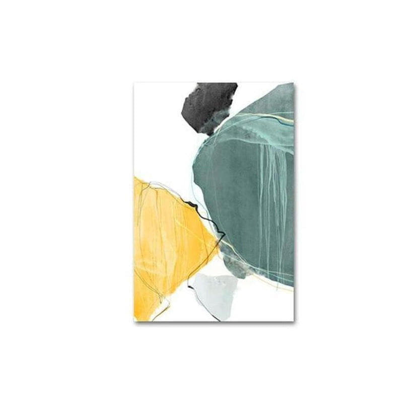 Norah Abstract Art Canvas Painting Prints-Heart N' Soul Home-10x15cm no frame-C-Heart N' Soul Home