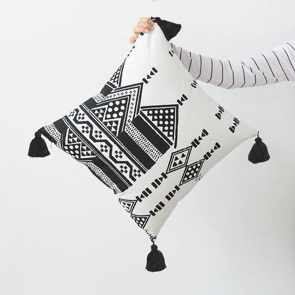 Ophelia Moroccan Cushion Cover-Heart N' Soul Home-45 x 45 cm No Insert-Heart N' Soul Home