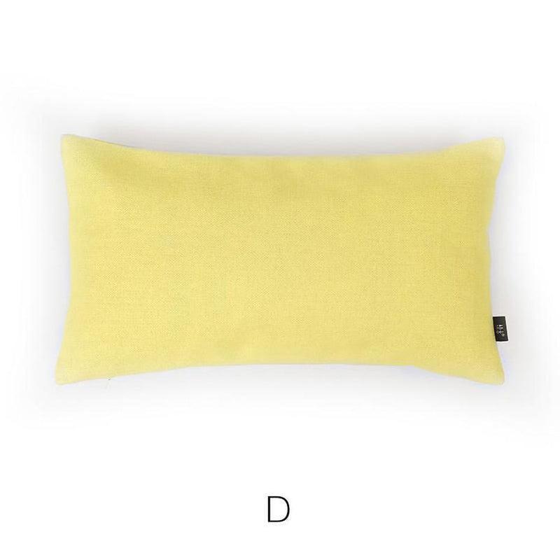 Paislee Fresh Leaves Cotton/Linen Cushion-Heart N' Soul Home-Cushion Cover + Insert-D 45*25cm-Heart N' Soul Home
