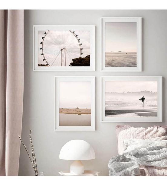 Beach Landscape Canvas Prints-Heart N' Soul Home