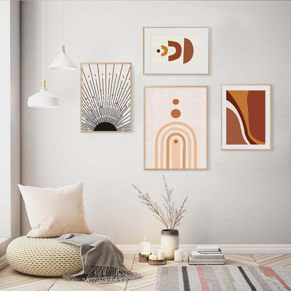 Micah Abstract Art Canvas Prints-Heart N' Soul Home