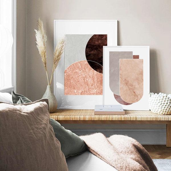 Alejandra Abstract Art Canvas Prints-Heart N' Soul Home