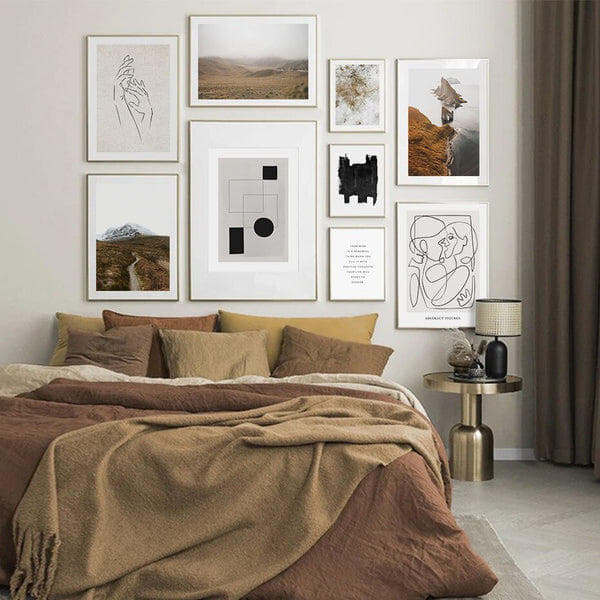 Octavia Abstract and Scenery Art Prints-Heart N' Soul Home