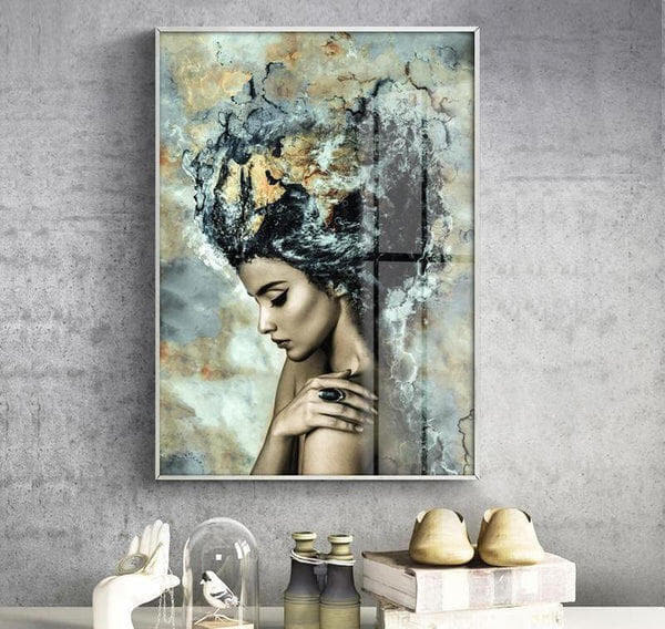 Queen Of The Sea Canvas Print-Heart N' Soul Home-Heart N' Soul Home