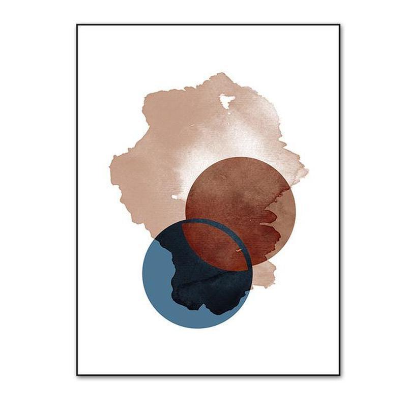 Savannah Abstract Art Canvas Prints-Heart N' Soul Home-10x15 cm no frame-PICTURE B-Heart N' Soul Home