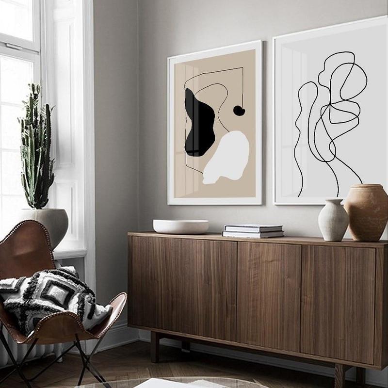 Savannah Abstract Art Canvas Prints-Heart N' Soul Home-Heart N' Soul Home