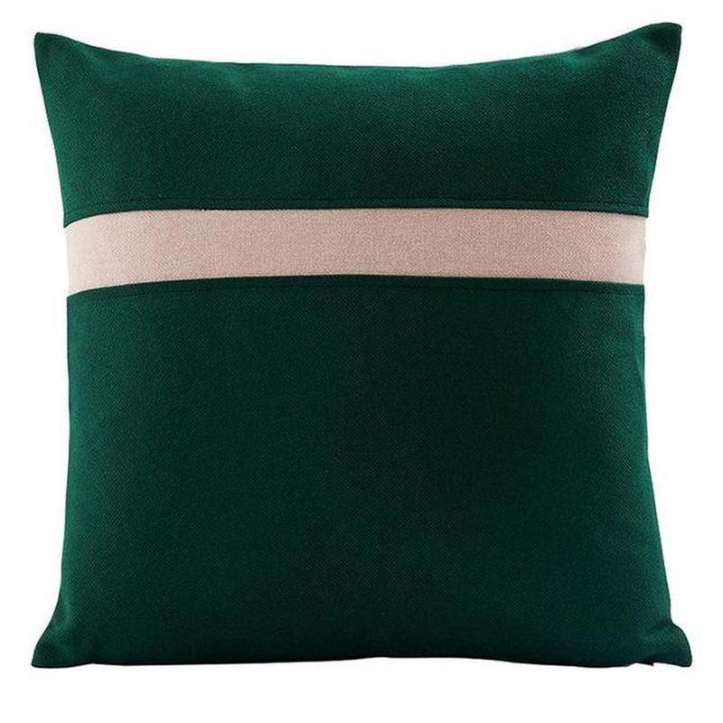 Sofia Cushion Cover-Heart N' Soul Home-Dark Green 45*45cm-45*45cm-Heart N' Soul Home