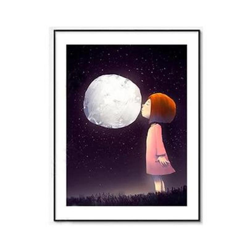 Sweet Good Night Kids Canvas Prints-Heart N' Soul Home-10x15cm no frame-A-Heart N' Soul Home
