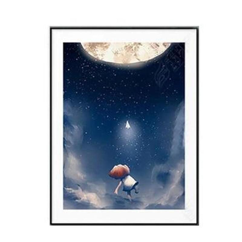 Sweet Good Night Kids Canvas Prints-Heart N' Soul Home-10x15cm no frame-B-Heart N' Soul Home