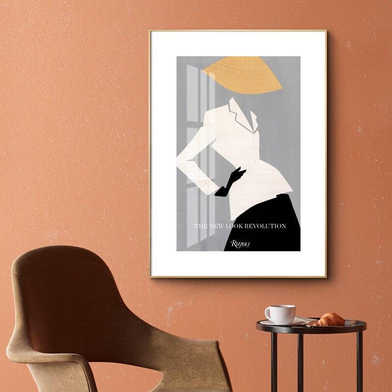 The New Look Fashion Canvas Print-Heart N' Soul Home-Heart N' Soul Home