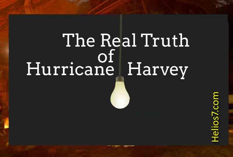 hurrican harvey conspiracy