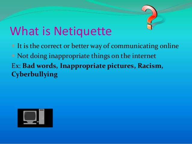 netiquette meaning
