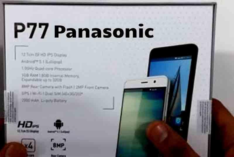 panasonic p77 mobile