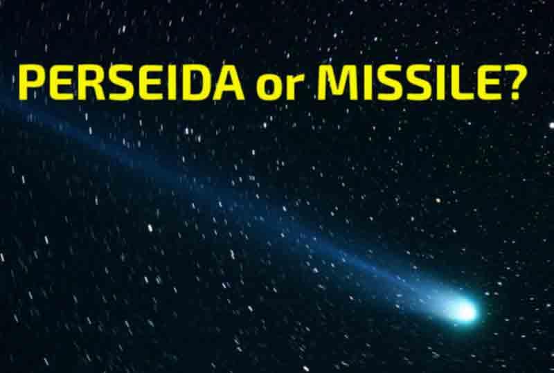 perseida or missile