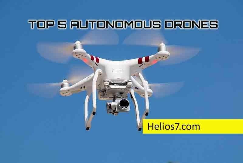 top 5 drones