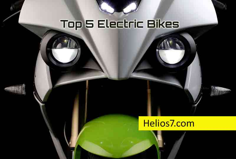 top 5 electric motorcycles