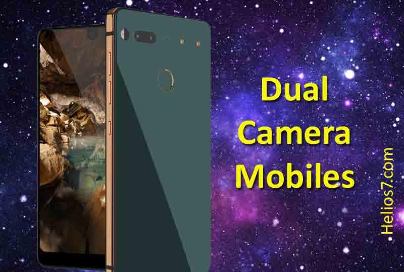 dual camera mobiles