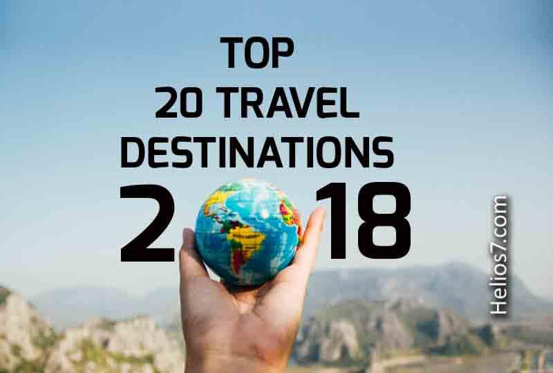 travel destinations 2018